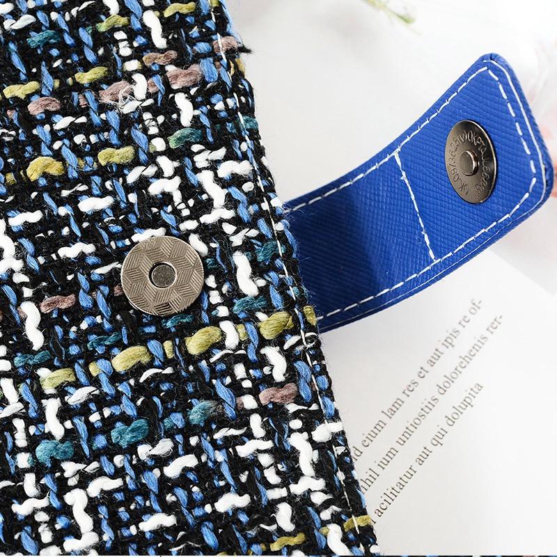 Creative-A6-Wool-Cloth-Retro-Hand-Account-Book-Diary-Notebook-Stationery-Z7P9 miniatura 11