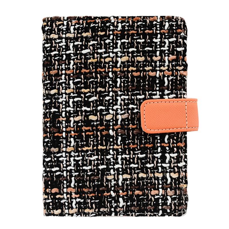 Creative-A6-Wool-Cloth-Retro-Hand-Account-Book-Diary-Notebook-Stationery-Z7P9 miniatura 17