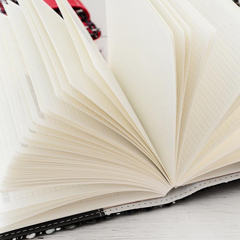 Creative-A6-Wool-Cloth-Retro-Hand-Account-Book-Diary-Notebook-Stationery-Z7P9 miniatura 19