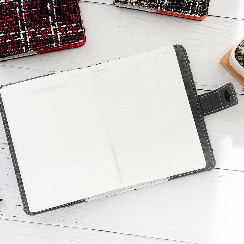 Creative-A6-Wool-Cloth-Retro-Hand-Account-Book-Diary-Notebook-Stationery-Z7P9 miniatura 20