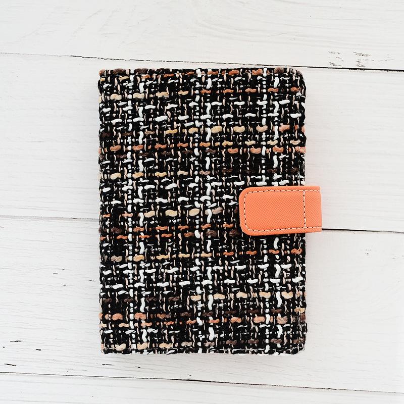 Creative-A6-Wool-Cloth-Retro-Hand-Account-Book-Diary-Notebook-Stationery-Z7P9 miniatura 16