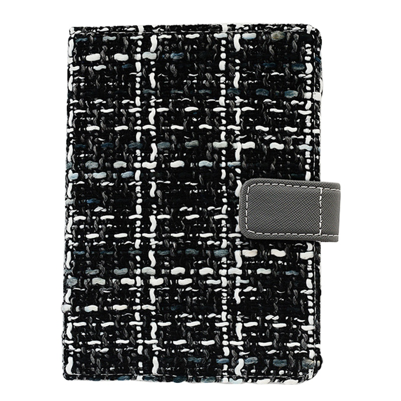Creative-A6-Wool-Cloth-Retro-Hand-Account-Book-Diary-Notebook-Stationery-Z7P9 miniatura 24