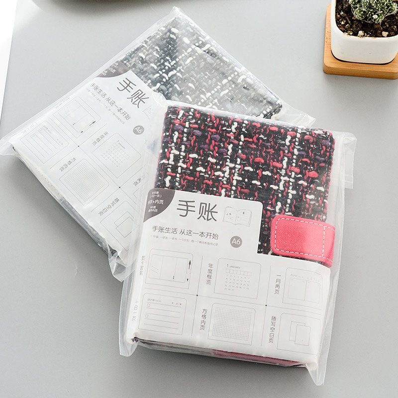 Creative-A6-Wool-Cloth-Retro-Hand-Account-Book-Diary-Notebook-Stationery-Z7P9 miniatura 29