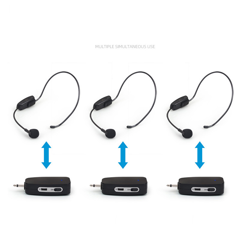 2.4G Headset Microphone Supercardioid