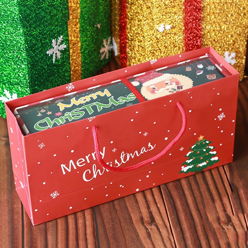 Weihnachten-Handtuch-Santa-Schneemann-Weihnachten-Baum-Baumwolle-Super-Weic-Y2L7 Indexbild 2