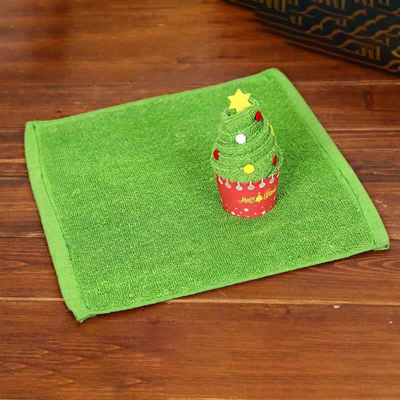 Weihnachten-Handtuch-Santa-Schneemann-Weihnachten-Baum-Baumwolle-Super-Weic-Y2L7 Indexbild 3