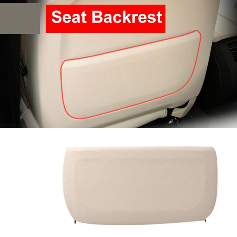 Black Car Seat Back Protector Cover For Children Kick Mat Mud Clean I8P5