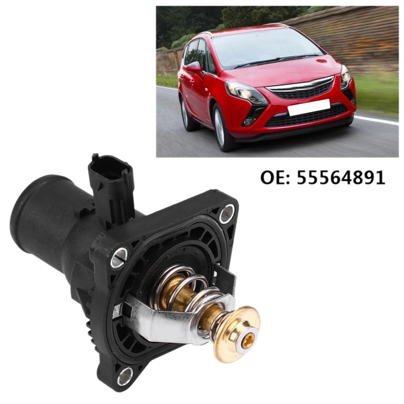 vauxhall engine coolant 55564891 engine coolant thermostat with housing for chevrolet opel  55564891 engine coolant thermostat with