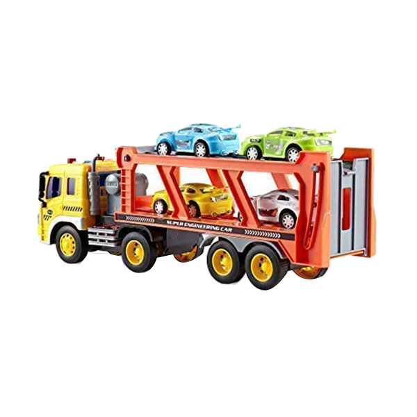 Children-039-s-Friction-Power-Truck-Toy-With-Sound-and-Light-Toddler-Boy-Toys-T-K5A3 thumbnail 5