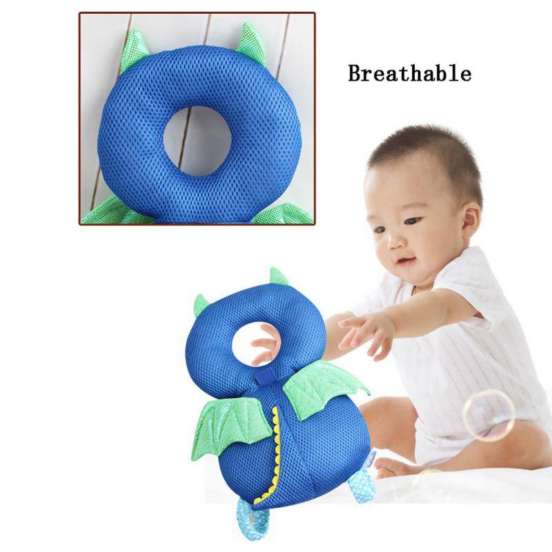 Neugeborenes-Kleinkind-Baby-Kopf-RueCkenprotektor-Sicherheitsauflage-Kissen-I8L7 Indexbild 5