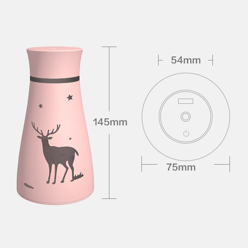 Cool-Mist-Humidifier-Large-Capacity-USB-Air-Humidifier-Purifier-Household-AA4L2 thumbnail 5