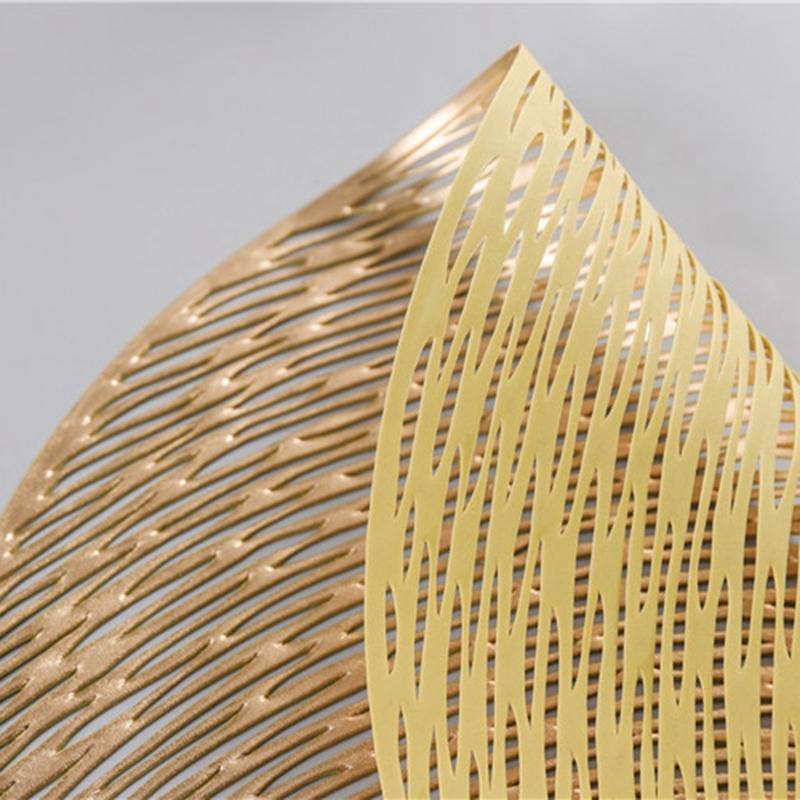 Runde-Tischsets-KueChe-PVC-Tischsets-fuer-Esstisch-Untersetzer-Set-H5K1 Indexbild 16