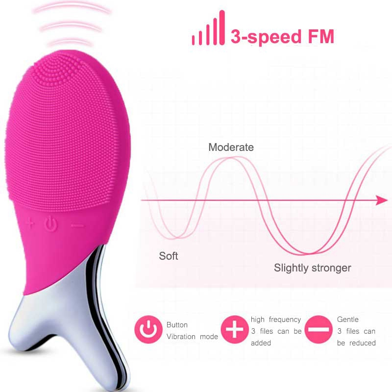 Face-Washing-Face-Electric-Washing-Facial-Cleansing-Instrument-Pore-CleanseM4T9 thumbnail 4
