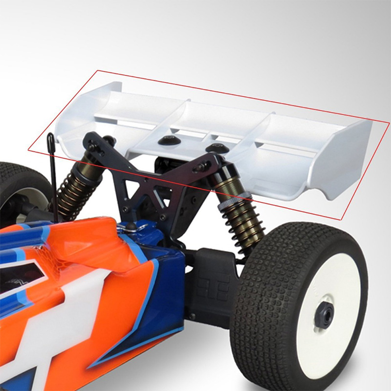 1: 8 Buggy RC Autos RC Kunststoff Nylon HeckflüGel für 1//8 Nitro Elektro 9Z3 4X