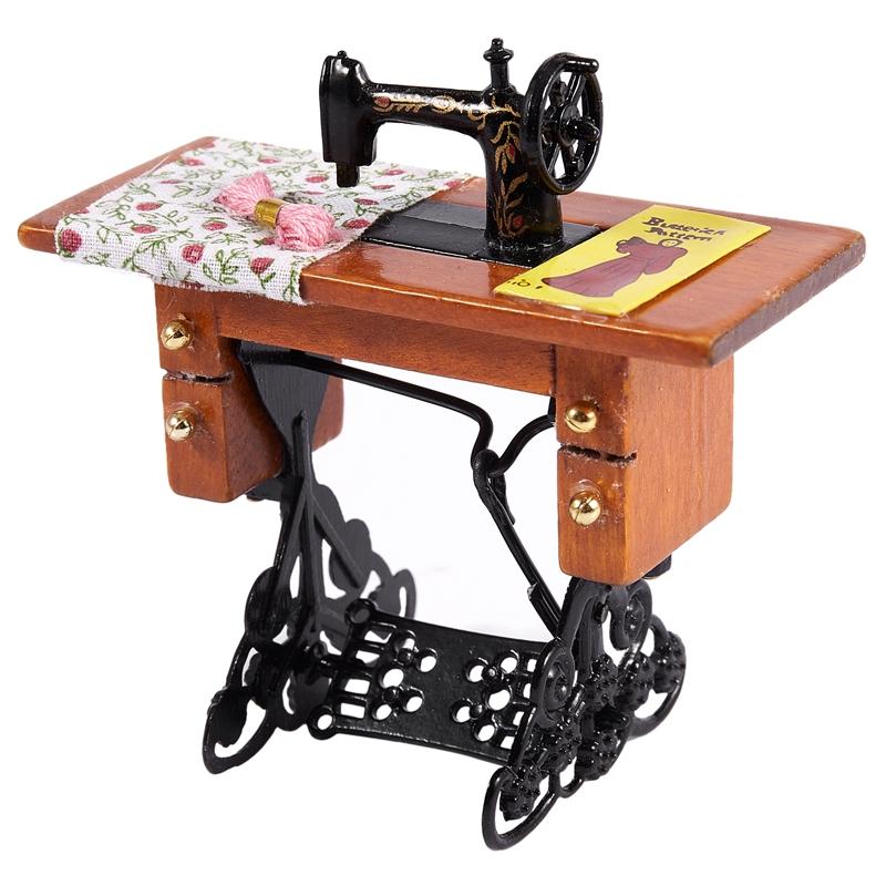 Maison de poupées échelle 1//12th pédale machine à coudre