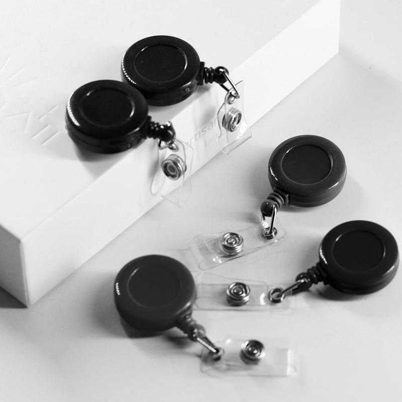 1pz-Sostenedor-de-insignia-carrete-retractil-YOYO-Clip-Boton-de-encaje-llav-E6D2 miniatura 10