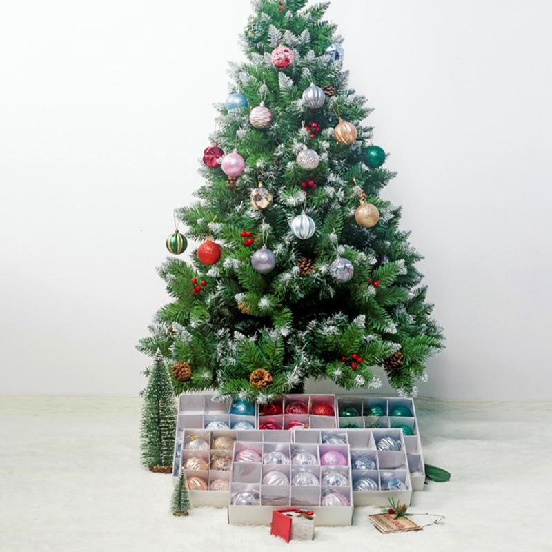 12PCS-Christmas-Tree-Ball-Pendants-Decor-Ball-Bauble-Christmas-Party-Hangin-T5V3 thumbnail 4