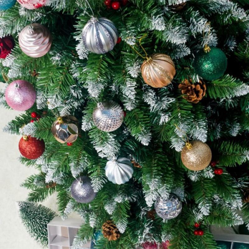12PCS-Christmas-Tree-Ball-Pendants-Decor-Ball-Bauble-Christmas-Party-Hangin-T5V3 thumbnail 6