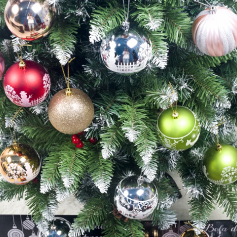 12PCS-Christmas-Tree-Ball-Pendants-Decor-Ball-Bauble-Christmas-Party-Hangin-T5V3 thumbnail 7