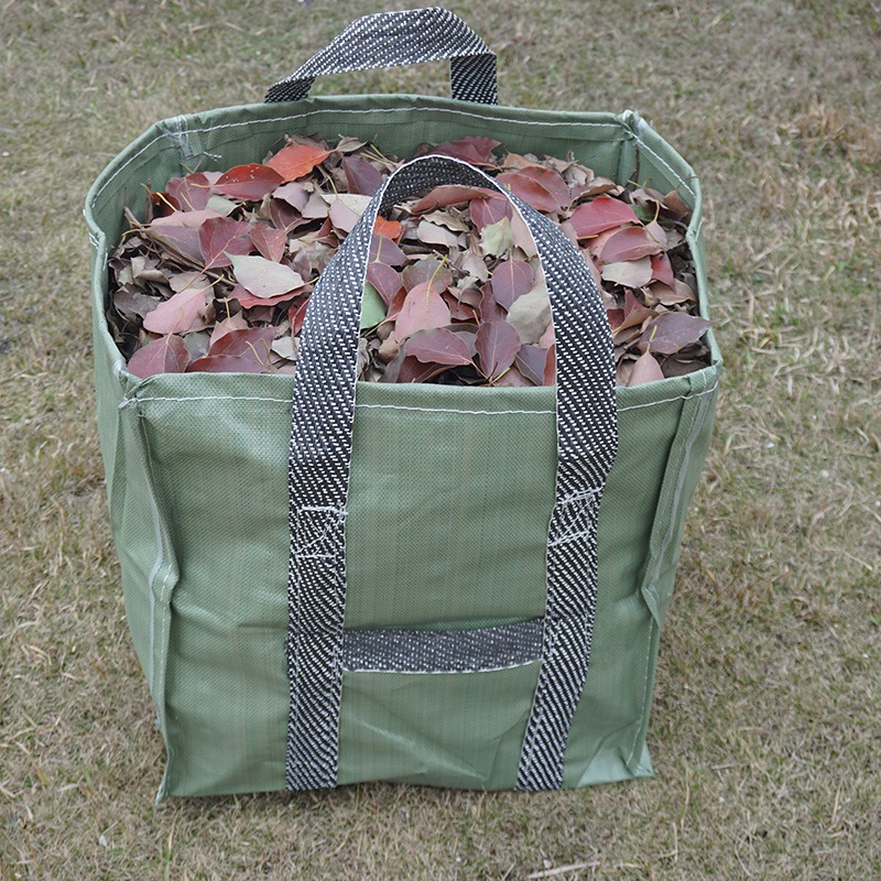 3Pcs 72 Gallons Garden Yard Lawn Leaf Waste Bags Containers Gardening Tote Bags