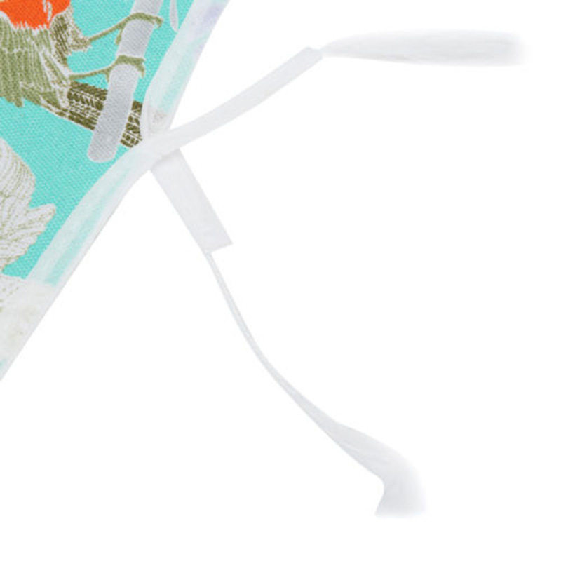 miniature 7 - 140X50Cm Rembourré Planche à Repasser Couverture Presse de Protection Mesh X2Y5