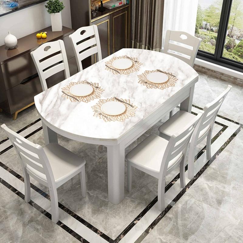 6PCS-Set-de-Table-en-PVC-pour-Table-Creuse-Pad-Coaster-Pads-Tapis-de-Bol-de-T7E9 miniature 7