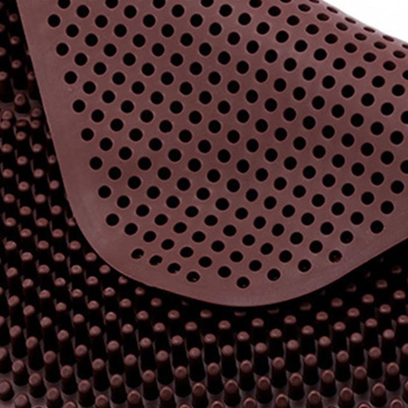 Coussin-de-SieGe-en-Gel-Massage-de-Colonne-Unique-AntideRapant-et-Respirant-V6B9 miniature 5