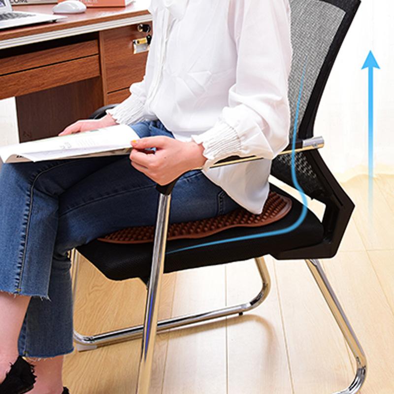 Coussin-de-SieGe-en-Gel-Massage-de-Colonne-Unique-AntideRapant-et-Respirant-V6B9 miniature 10