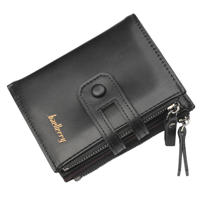 Wallet-Men-Short-Purse-Coin-Pocket-Zipper-Clutch-Bag-Men-039-s-Money-Clips-Male-W7W9 thumbnail 3