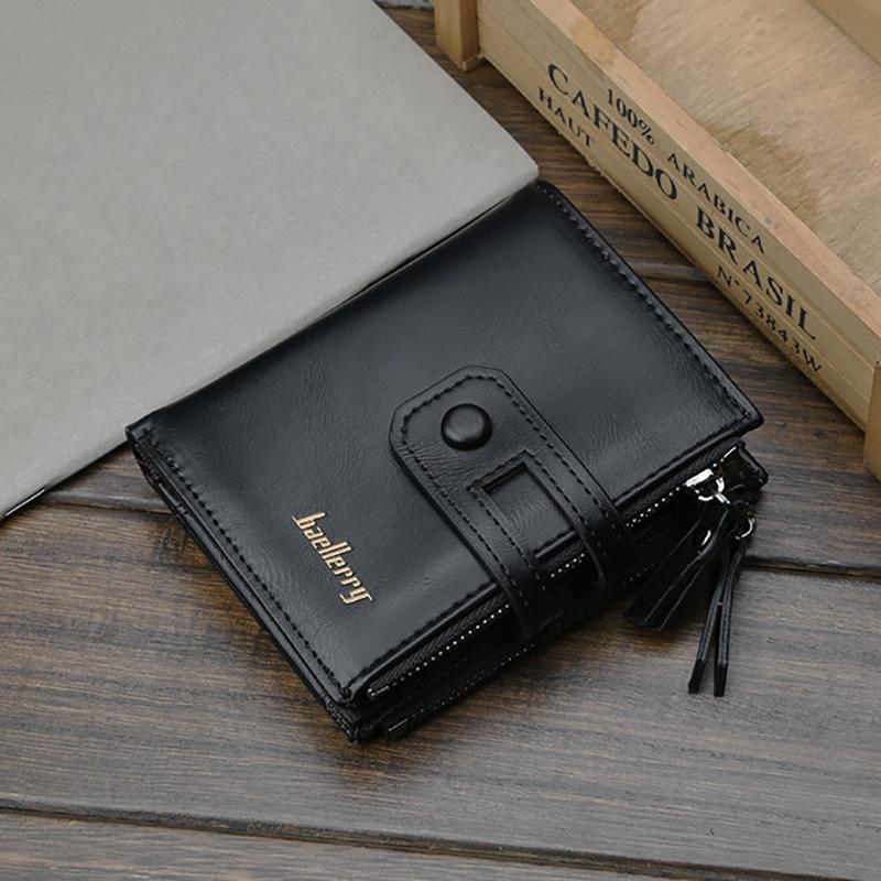 Wallet-Men-Short-Purse-Coin-Pocket-Zipper-Clutch-Bag-Men-039-s-Money-Clips-Male-W7W9 thumbnail 2