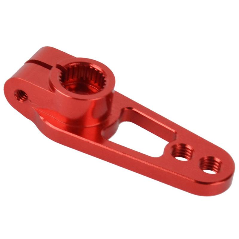 1PCS-AleacioN-de-Aluminio-25T-31Mm-DireccioN-Servo-Arm-Horn-para-RC-Car-G8Y9 miniatura 5