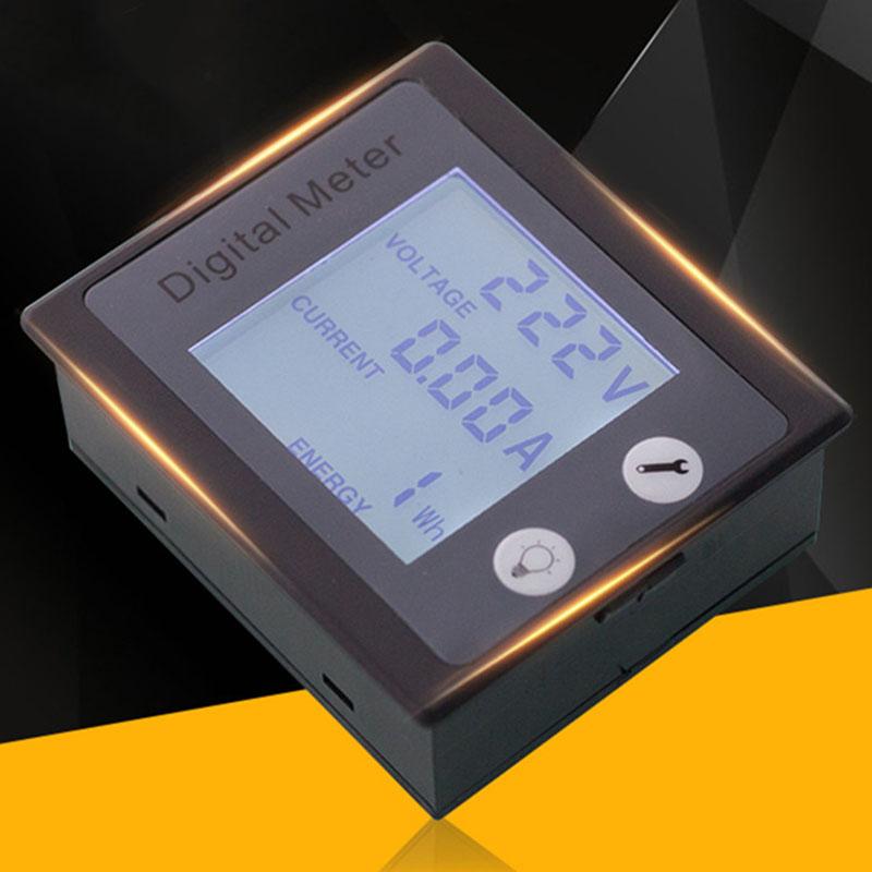 AC-Single-Phase-Digital-Panel-Voltmeter-Ammeter-220V-100A-Voltage-Current-E-S7P4 thumbnail 2