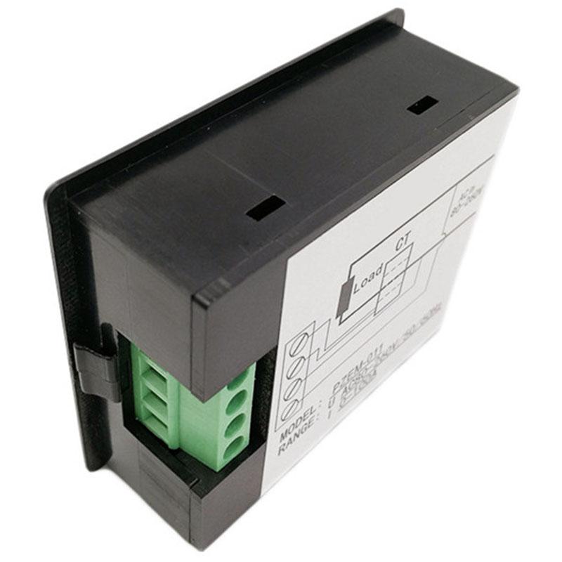 AC-Single-Phase-Digital-Panel-Voltmeter-Ammeter-220V-100A-Voltage-Current-E-S7P4 thumbnail 4