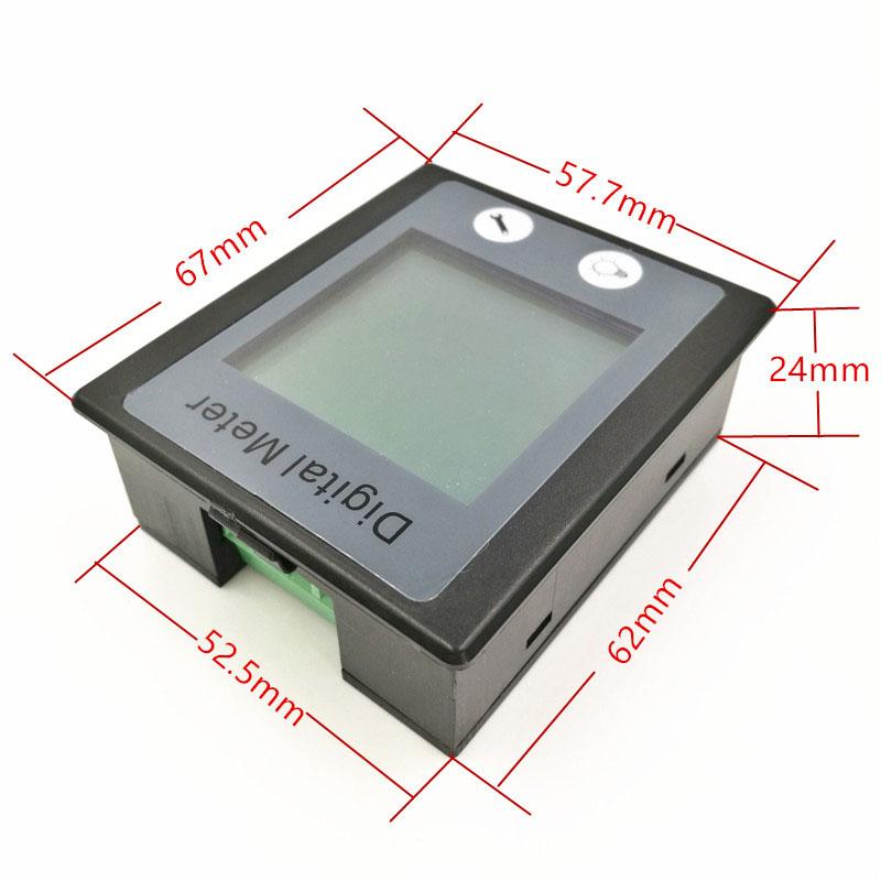 AC-Single-Phase-Digital-Panel-Voltmeter-Ammeter-220V-100A-Voltage-Current-E-S7P4 thumbnail 5