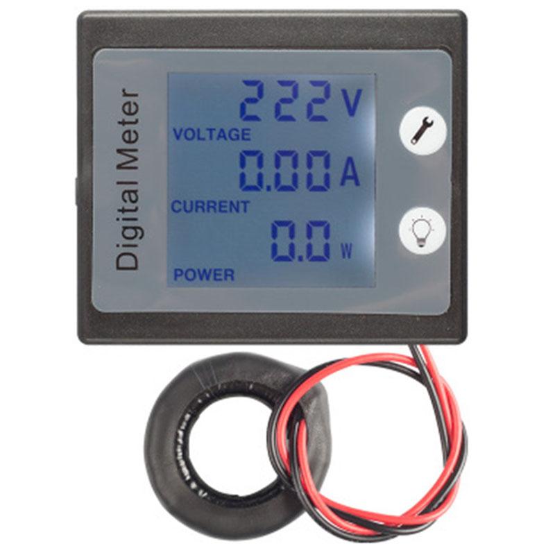 AC-Single-Phase-Digital-Panel-Voltmeter-Ammeter-220V-100A-Voltage-Current-E-S7P4