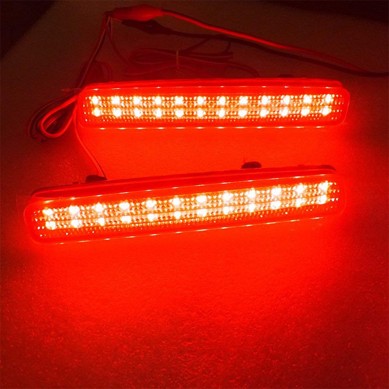 SODIAL Fit for 2002-2008 E85 Z4 Third Brake Stop Light Red Color Lamp 63256917378