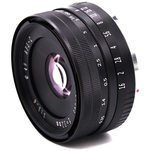 32Mm-F1-6-Objectif-Fixe-a-Grande-Ouverture-Manuelle-APS-C-pour-Sony-E-Mount-I2Y8 miniature 2