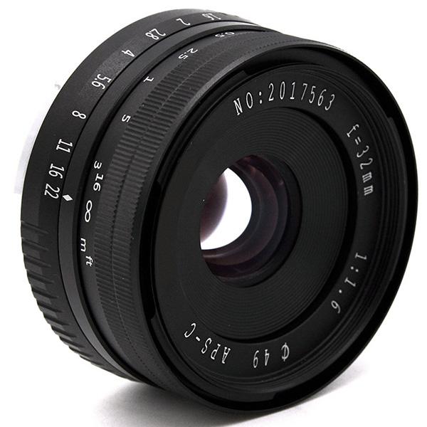 32Mm-F1-6-Objectif-Fixe-a-Grande-Ouverture-Manuelle-APS-C-pour-Sony-E-Mount-I2Y8 miniature 4