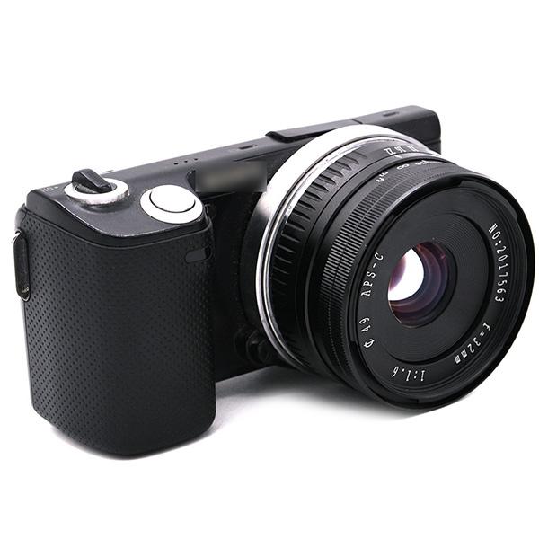 32Mm-F1-6-Objectif-Fixe-a-Grande-Ouverture-Manuelle-APS-C-pour-Sony-E-Mount-I2Y8 miniature 6