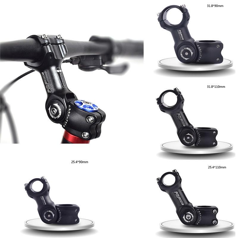 Einstellbare-60-MTB-Vorbau-Riser-Vorbau-fuer-Rennrad-Mountainbike-Vorbau-Alu-U4U1 Indexbild 8