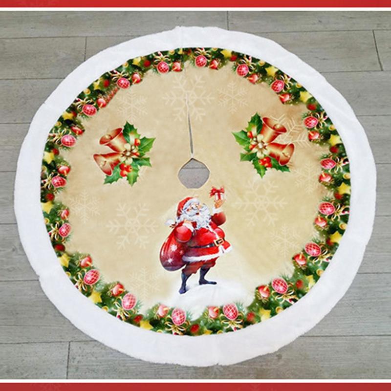1X-1-StueCke-Rentier-Weihnachtsbaum-RoeCke-Pelz-Carpet-Weihnachten-Dekoration-6I9 Indexbild 4