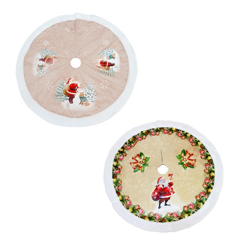 1X-1-StueCke-Rentier-Weihnachtsbaum-RoeCke-Pelz-Carpet-Weihnachten-Dekoration-6I9 Indexbild 7