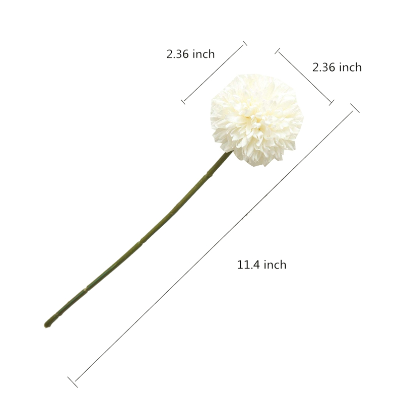 thumbnail 10 - 6Pcs-Artificial-Flowers-Fake-Flowers-Silk-Plastic-Artificial-Hydrangea-Bri-D5J9