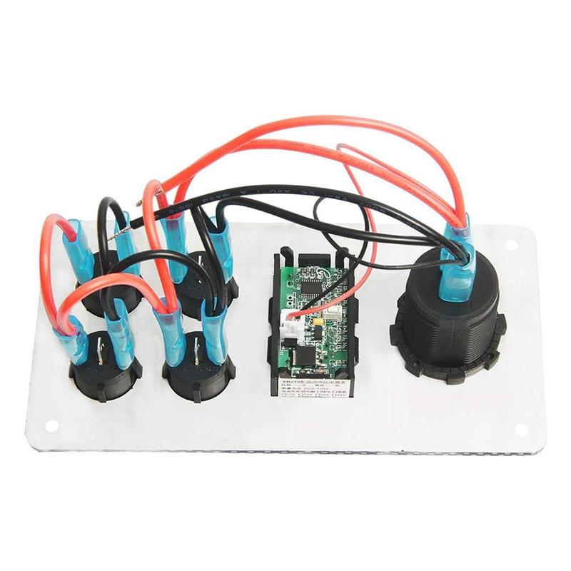 12-24-V-Bateau-On-Off-Blue-LED-Interrupteur-a-Bascule-Panneau-de-Repose-de-C9V7 miniature 10