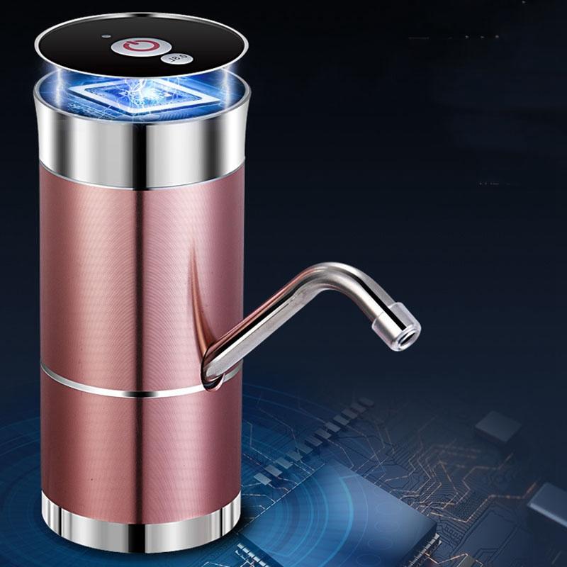 Double-Pompe-Pompe-a-Eau-Automatique-pour-la-Recharge-de-Bouteilles-USB-Doub-T1O miniature 7