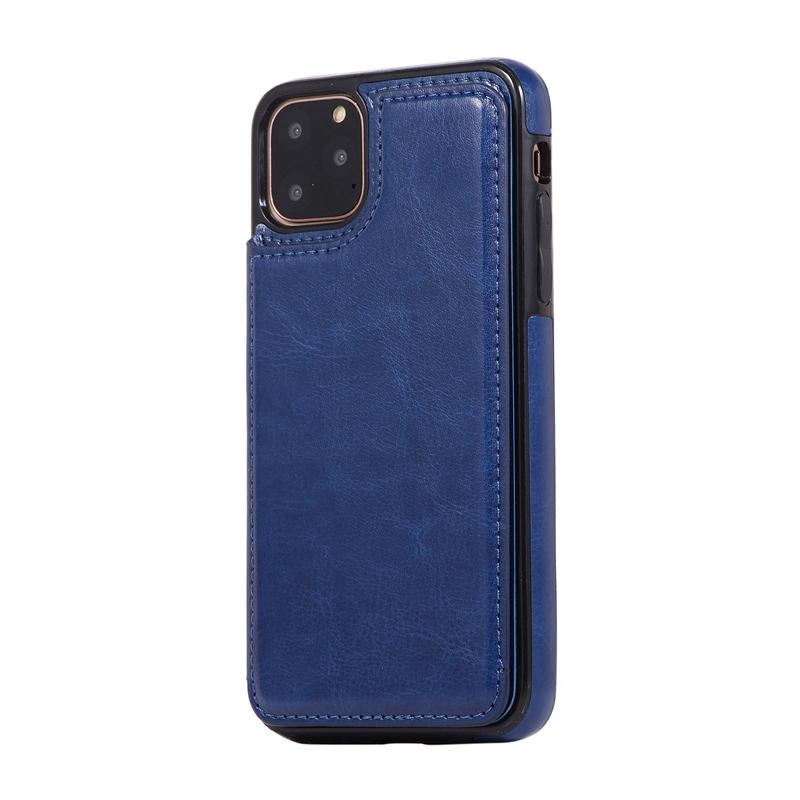 Indexbild 21 - für IPhone 11 Pro Max Magnetische PU+TPU Brieftasche Fall Kartensteckplatz U1P6