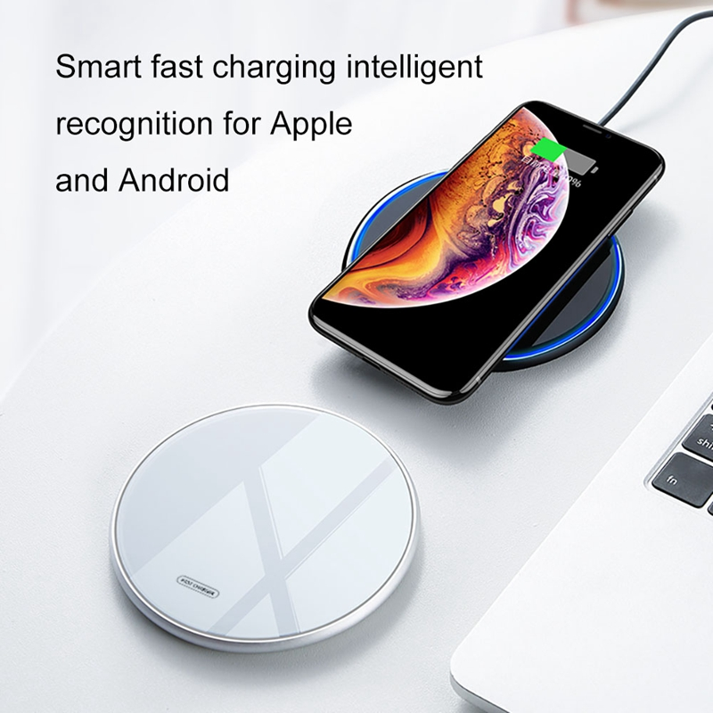 Fast-Qi-Glass-Wireless-Charger-for-Huawei-P30-Pro-Samsung-e-10-Plus-S10-N1O2 thumbnail 4