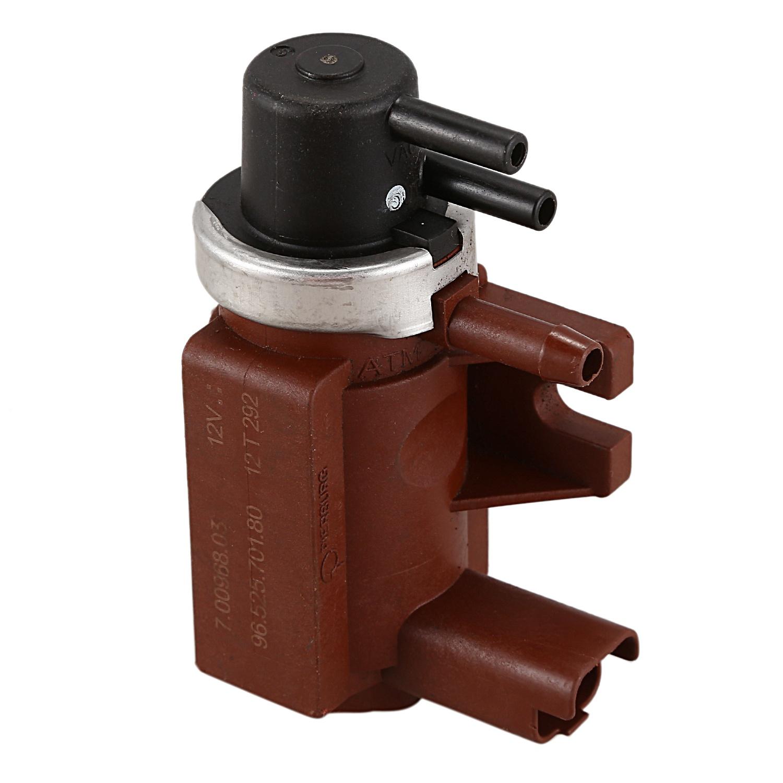 Pressure Converter Sensors BMW OEM Turbocharger Boost Solenoid Valves Set of 2