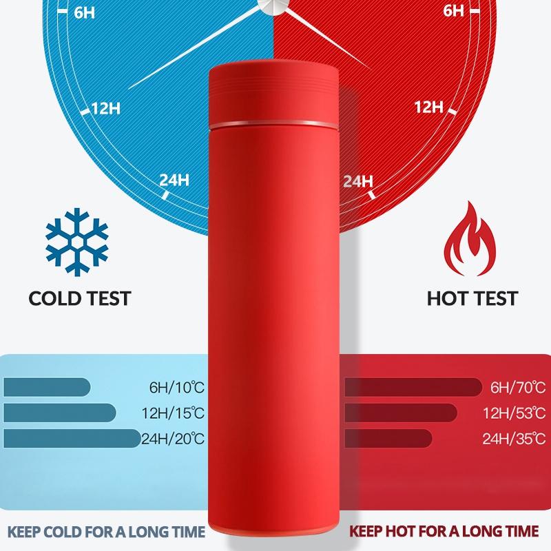 Bouteille-Isotherme-avec-Filtre-Bouteille-Thermique-en-Acier-Inoxydable-Tas-C2Z1 miniature 26