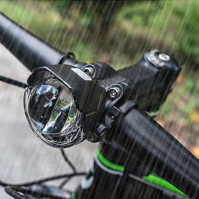 Bike Light Smart Solar Headlight Waterproof LED Bicycle Front Light ReadingE5W3